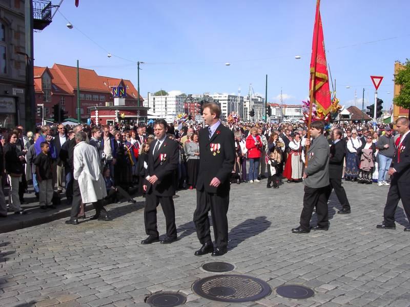 Gamlekarene til Wesselengens Bataljon ved Bryggesporen